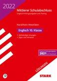 STARK Lösungen zu Original-Prüfungen und Training - Mittlerer Schulabschluss 2022 - Englisch - NRW