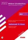 STARK Lösungen zu Original-Prüfungen und Training - Mittlerer Schulabschluss 2022 - Mathematik - Realschule/Gesamtschule EK/Sekundarschule - NRW