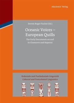 Oceanic Voices - European Quills (eBook, PDF)