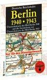 Übersichtskarten der Reichsbahndirektion Berlin 1940 und Sonderkarte zur Übersichtskarte der Rbd Berlin 1943