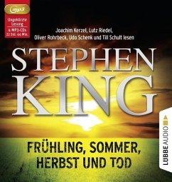 Frühling, Sommer, Herbst und Tod, 4 MP3-CD (Restauflage) - King, Stephen