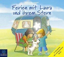 Ferien mit Laura und ihrem Stern, 3 Audio-CDs (Restauflage) - Baumgart, Klaus