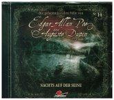 Die geheimnisvollen Fälle von Edgar Allan Poe und Auguste Dupin - Nachts auf der Seine, 1 Audio-CD