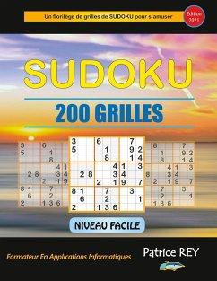 Sudoku 200 grilles niveau facile (edition 2021)