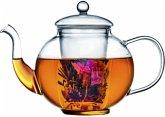 Bredemeijer Teekanne Verona 1,5l Glas inkl. Teefiler 1466