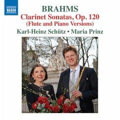 Klarinettensonaten Op.120 - Schütz,Karl-Heinz/Prinz,Maria