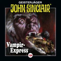 Vampir-Express / Geisterjäger John Sinclair Bd.136 (1 Audio-CD) (Restauflage) - Dark, Jason