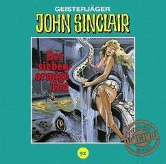 Der siebenarmige Tod / John Sinclair Tonstudio Braun Bd.92 (1 Audio-CD) (Restauflage) - Dark, Jason