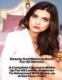 Beauty And Makeup Course For All Women - A Complete Course In Make Up For All Levels, Beginner To Advanced With Make-up Artist Face Chart: Full Color