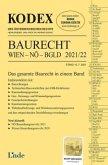 KODEX Baurecht Wien - NÖ - Bgld 2021/22