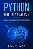 Python for data analysis: Analysis and wrangling, using tools like Panda and NumPy. Reading and writing CSV, HTML, XML, JSON, MATLAB. And much m