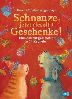 Schnauze, jetzt rieselt's Geschenke / Schnauze Bd.6 (Mängelexemplar) - Angermayer, Karen Chr.