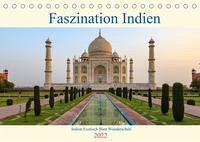 Faszination Indien (Tischkalender 2022 DIN A5 quer)