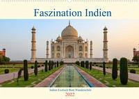 Faszination Indien (Wandkalender 2022 DIN A2 quer)