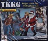 Ein Fall für TKKG Adventskalender - Morgen kommt das Weihnachtsgrauen, 2 Audio-CD