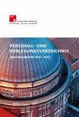 Personal- und Vorlesungsverzeichnis Wintersemester 2021/22