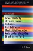 Linear Elasticity of Elastic Circular Inclusions Part 2/Lineare Elastizitätstheorie bei kreisrunden elastischen Einschlüssen Teil 2 (eBook, PDF)