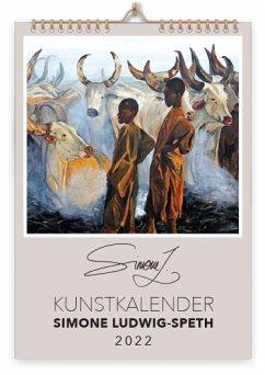 Kunstkalender 2022 Simone Ludwig-Speth