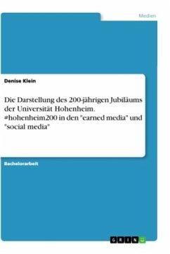 Die Darstellung des 200-jährigen Jubiläums der Universität Hohenheim. #hohenheim200 in den
