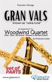 Gran Vals - Woodwind Quartet (PARTS) (eBook, ePUB)