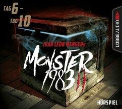 Monster 1983, Staffel II: Folge 06-10, 5 Audio-CDs (Restauflage) - Menger, Ivar Leon; Strohmeyer, Anette; Weber, Raimon