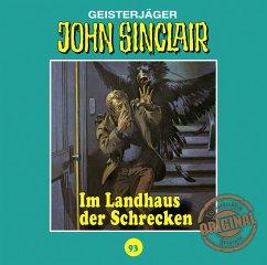 Im Landhaus der Schrecken / John Sinclair Tonstudio Braun Bd.93 (1 Audio-CD) (Restauflage) - Dark, Jason