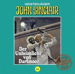 Der Unheimliche von Dartmoor / John Sinclair Tonstudio Braun Bd.90 (1 Audio-CD) (Restauflage) - Dark, Jason