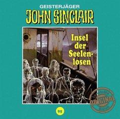 Insel der Seelenlosen / John Sinclair Tonstudio Braun Bd.95 (1 Audio-CD) (Restauflage) - Dark, Jason