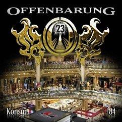 Offenbarung 23, Konsum, 1 Audio-CD (Restauflage) - Fibonacci, Catherine