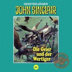 Die Geier und der Wertiger / John Sinclair Tonstudio Braun Bd.88 (1 Audio-CD) (Restauflage) - Dark, Jason