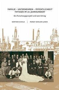 Thyssen im 20. Jahrhundert. Ein Forschungsprojekt und sein Ertrag