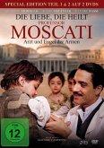 Die Liebe, die heilt - Professor Moscati. Tl.1&2, 2 DVD