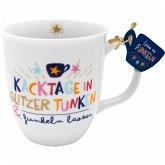 """Tasse """"Kacktage in Glitzer tunken & Funkeln lassen"""""""