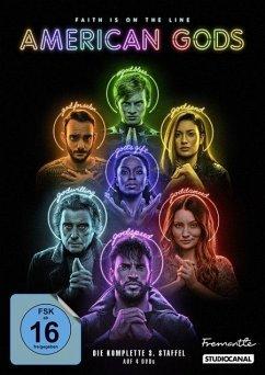 American Gods - 3.Staffel - Ricky Whittle,Emily Browning,Omid Abtahi