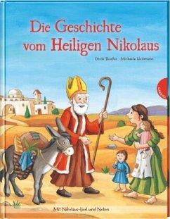 Die Geschichte vom Heiligen Nikolaus (Mängelexemplar) - Beutler, Dörte