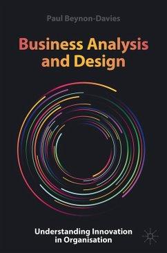 Business Analysis and Design (eBook, PDF) - Beynon-Davies, Paul