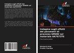 Indagine sugli effetti dei parametri di processo GMAW sul materiale AA7075T6