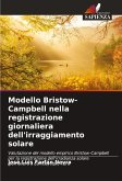 Modello Bristow-Campbell nella registrazione giornaliera dell'irraggiamento solare