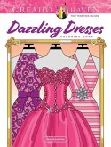 Creative Haven Dazzling Dresses Coloring Book