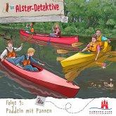 Die Alster-Detektive, Folge 9: Paddeln mit Pannen (MP3-Download)