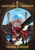 Leuchtturm der Abenteuer Trilogie 1 Freunde in Gefahr - Kinderbuch ab 10 Jahren