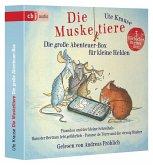 Die Muskeltiere - Die große Abenteuer-Box für kleine Helden, 6 Audio-CD