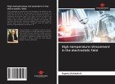 High-temperature nitrocement in the electrostatic field