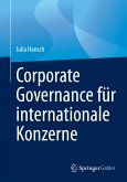 Corporate Governance für internationale Konzerne (eBook, PDF)