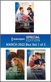Harlequin Special Edition March 2022 - Box Set 1 of 2 (eBook, ePUB)