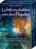 Lichtbotschaften von den Plejaden - das Kartenset: 44 Energiekarten für jeden Tag mit Übungen im Begleitbuch