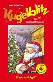 Kugelblitz als Weihnachtsmann / Silbenhilfe