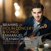 Brahms:Violinconcerto And Songs