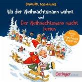 Wo der Weihnachtsmann wohnt und Der Weihnachtsmann macht Ferien (MP3-Download)