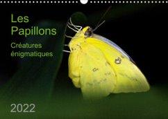 Les Papillons - créatures énigmatiques (Calendrier mural 2022 DIN A3 horizontal)
